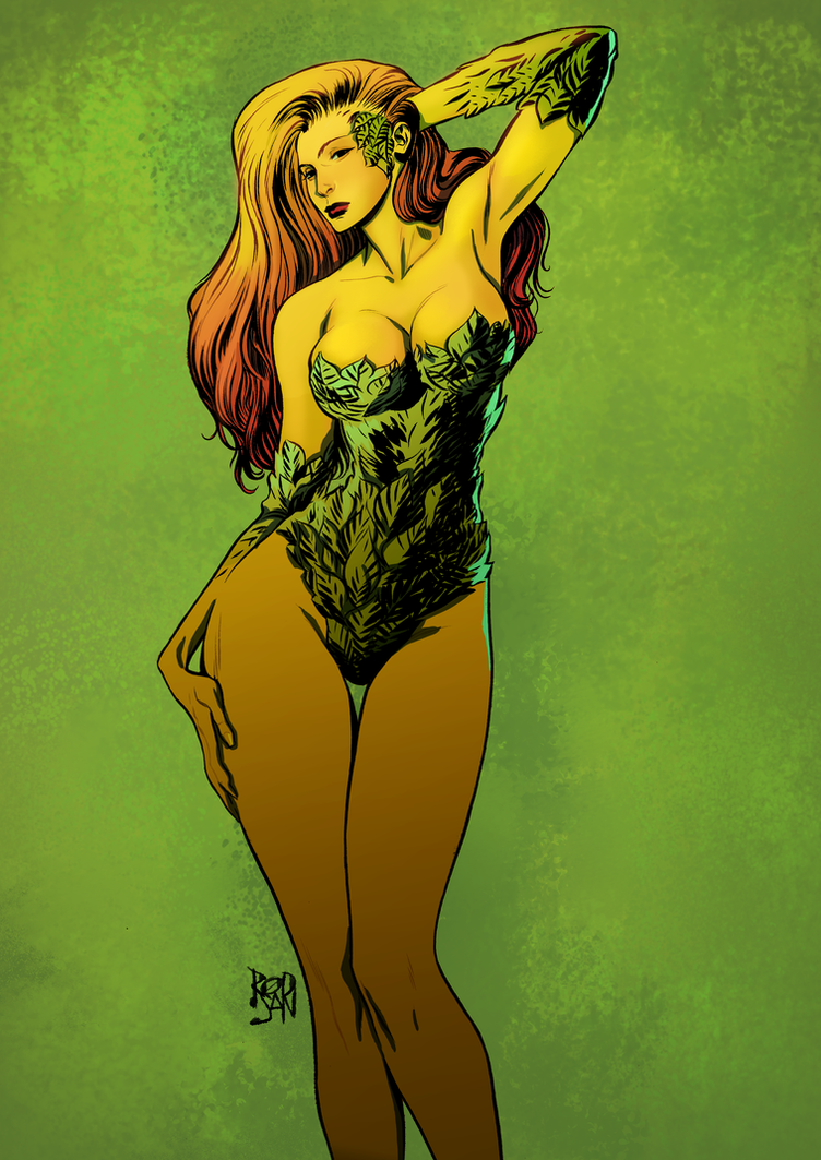 Poison Ivy by adagadegelo