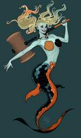 Harley Quinn + Mermaid