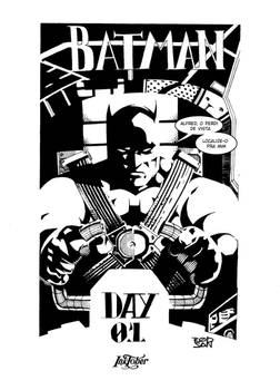 Inktober day 01 - Batman