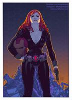 Black Widow by adagadegelo