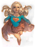 Supergirl by adagadegelo