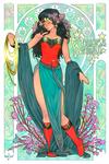 Commission - Wonder Woman Art Noveau