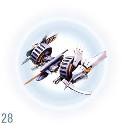 Ikaruga Combination Render 28
