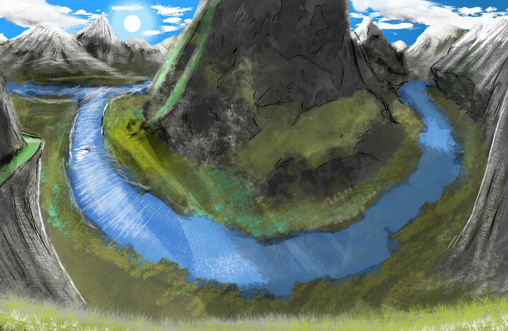 Paysage Concept paysage conceptnarstak on deviantart