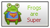 Frogs Are Super by renatalmar