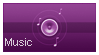 Music purple by renatalmar