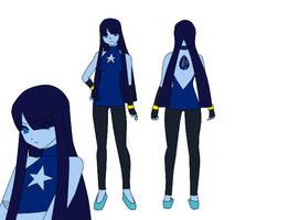 Steven Universe OC - Sapphire by RunawayFantasy