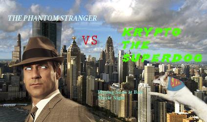Kyrpto vs The Phantom Stranger by DaManOfManyNames