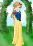 Disney dress up, Snow white