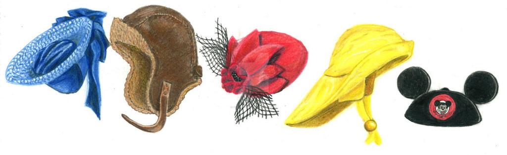 Hats2 by OceaniaGrey