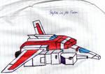 Skyfire in jet mode scribble