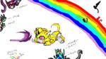 Rai-Kitten Prepare to Pounce