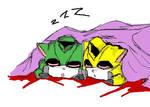 Sleepy Yuusha Kittens