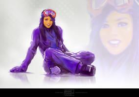 Snow girl by Kashivan