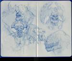 Moleskine Doodles40  By Kashivan