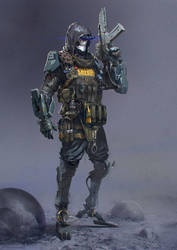 Soldier R by Kashivan