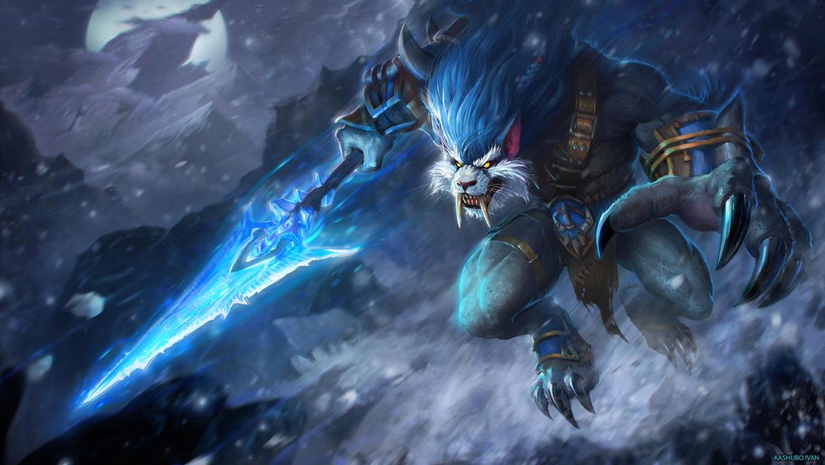 Frost Wolf by Kashivan
