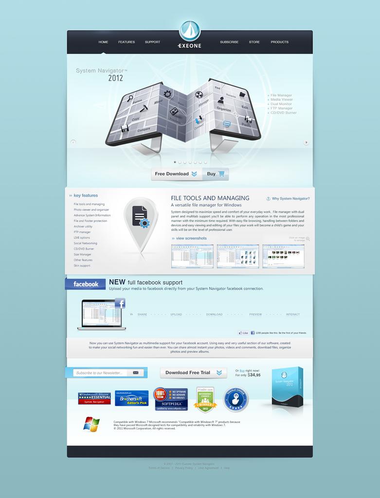 System Navigator 2012 by themetamy