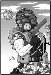 Unsung Hero of Black Mesa by GeekyGothGirl
