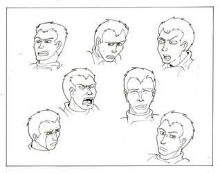 Model Sheet: Steel Faces