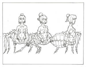 Model Sheet: Spider Mutant