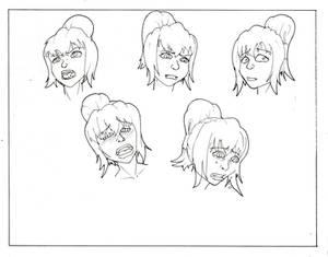 Model Sheet: Spider Faces