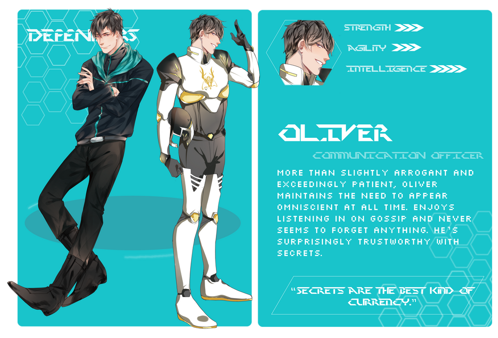 [ DEF ] Oliver by qiu-s