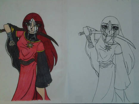 Old Character Design Colored and Original