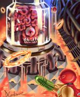 Final Battle: Mother Brain by MegaDaniel