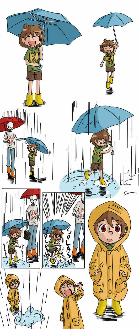 Rainy Day by beanbagbrianna