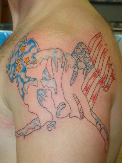 Alaska tattoo by welcometoreality on deviantart for Tattoo of ak