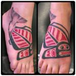 Alaskan Halibut Tattoo