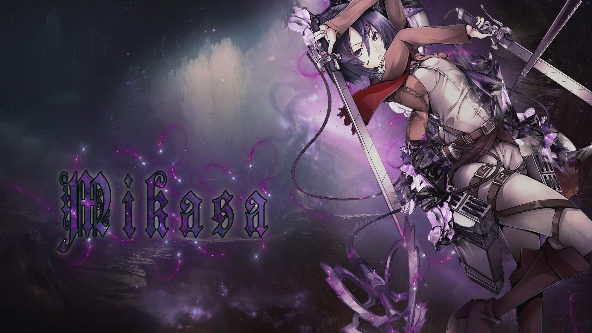 Mikasa Attack On Titan Wallpaper By Ganger Design
