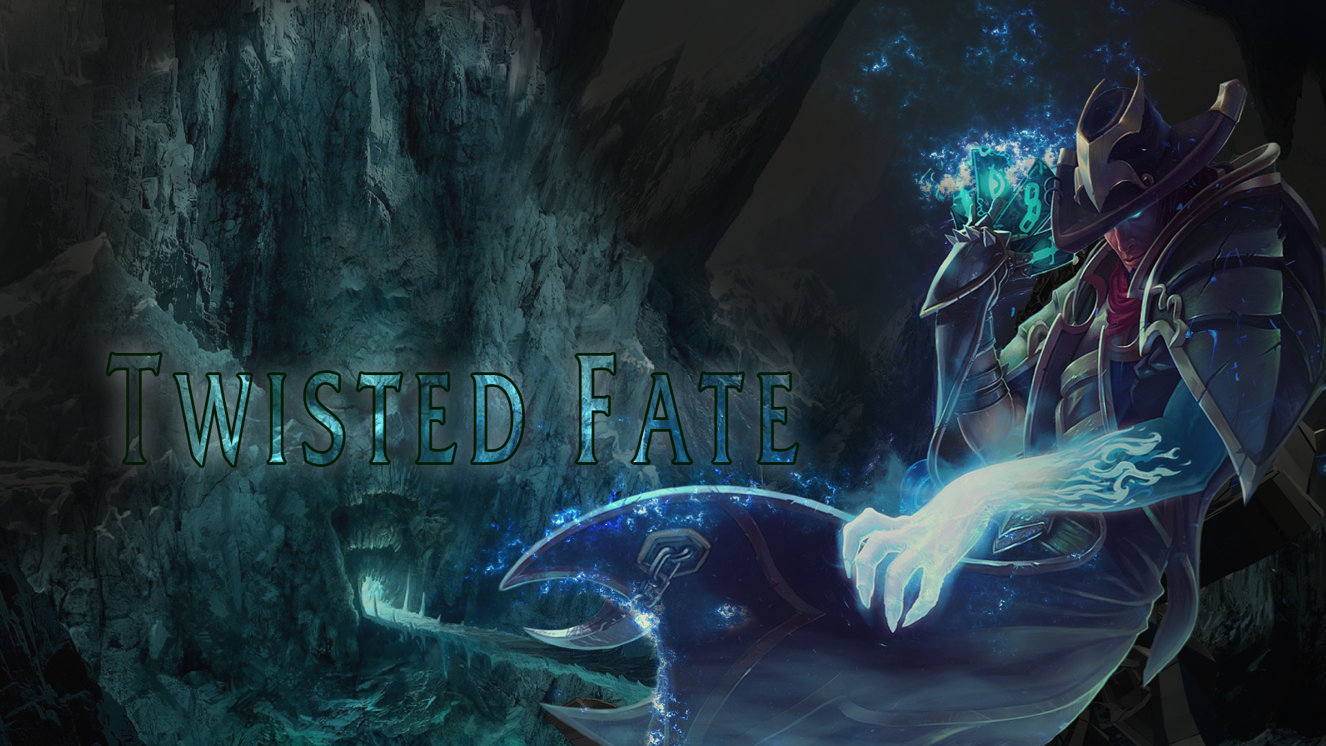 Twisted fate wallpaper by ganger design on deviantart twisted fate wallpaper by ganger design voltagebd Gallery