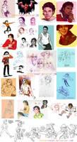 MJ Sketch dump 7