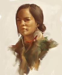 portrait study by trockn