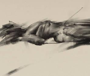 digital charcoal drawing by trockn