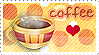 I Luv Coffee Stamp by MagnifiqueN
