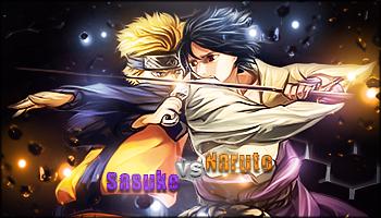 Naruto vs Sasuke by MagnifiqueN