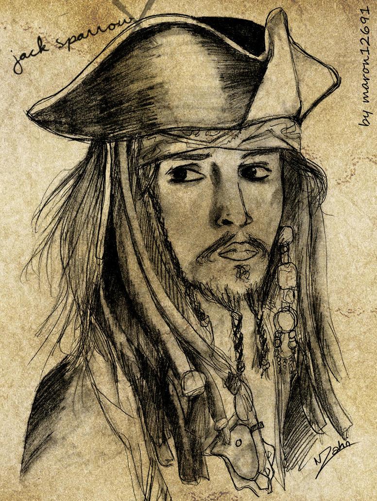 + Captain Jack Sparrow + by maron12691