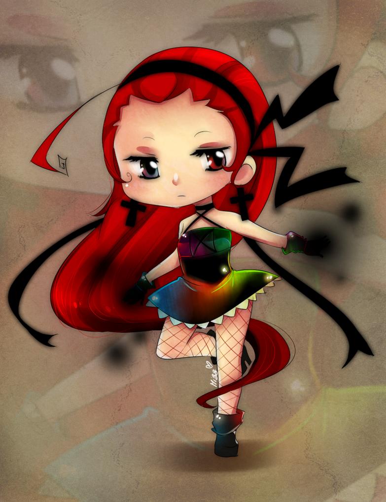 Chibi Yuu by KuroiiFox