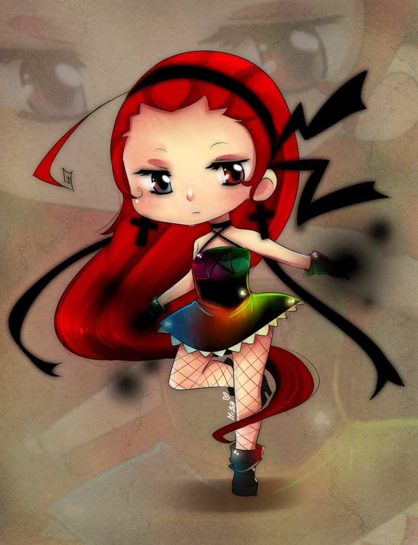 Chibi Yuu by Mizz-chama