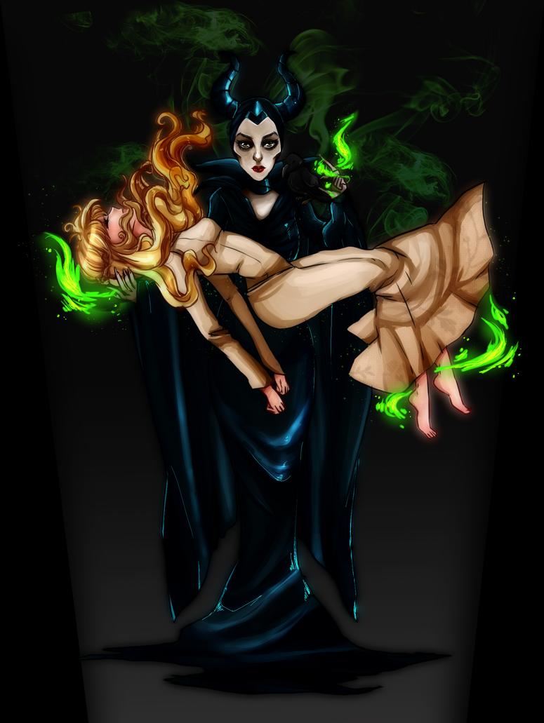 Maleficent by KuroiiFox