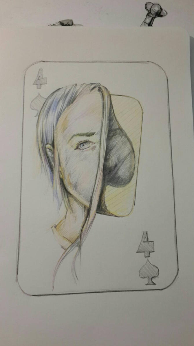4 of spades by Sanaloglan