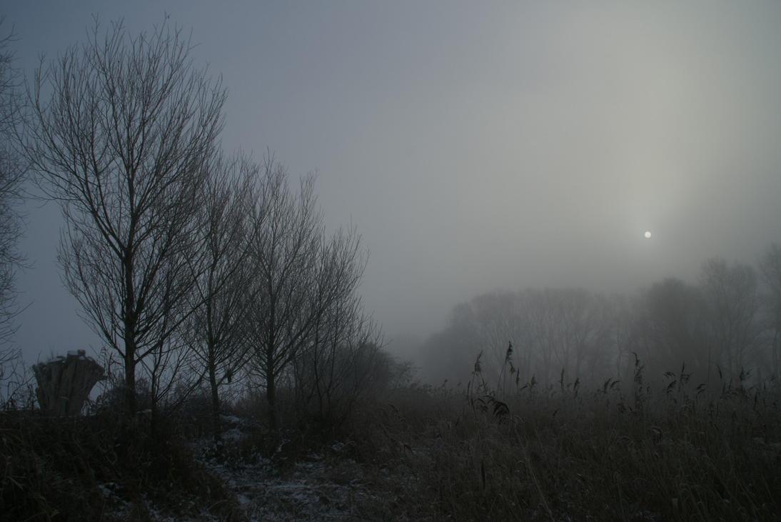 Winter landscape 1 by Gerfer