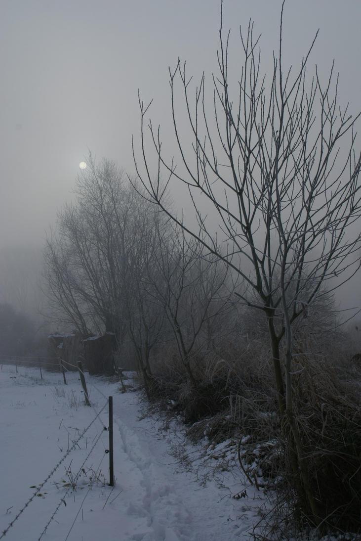 Winter landscape 2 by Gerfer