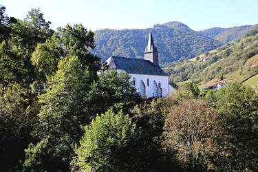 Small mountain church by Gerfer