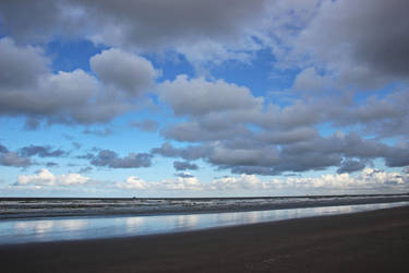 Clouds over the North Sea