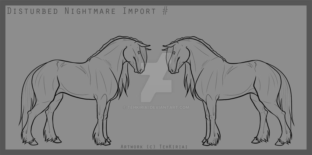 2016 Disturbed Nightmare Import Lines by TehKiriai