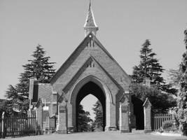 Cemetery Gates by suburban-cowboy